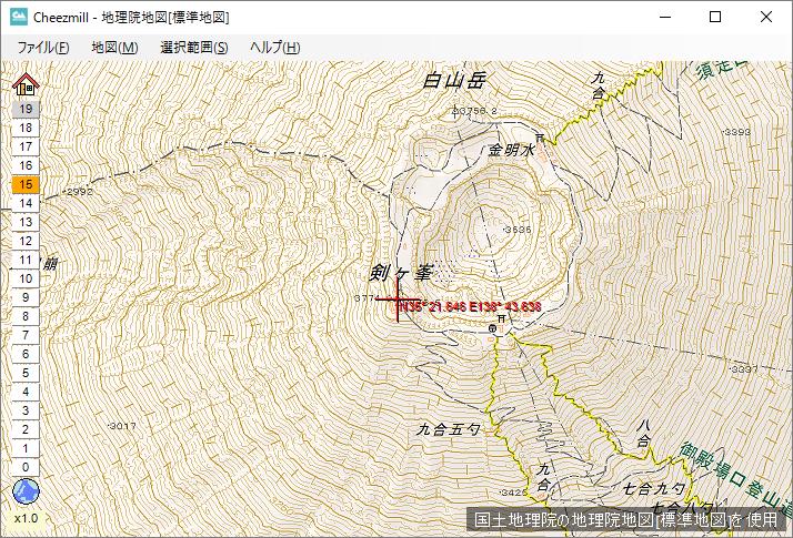 地図の閲覧